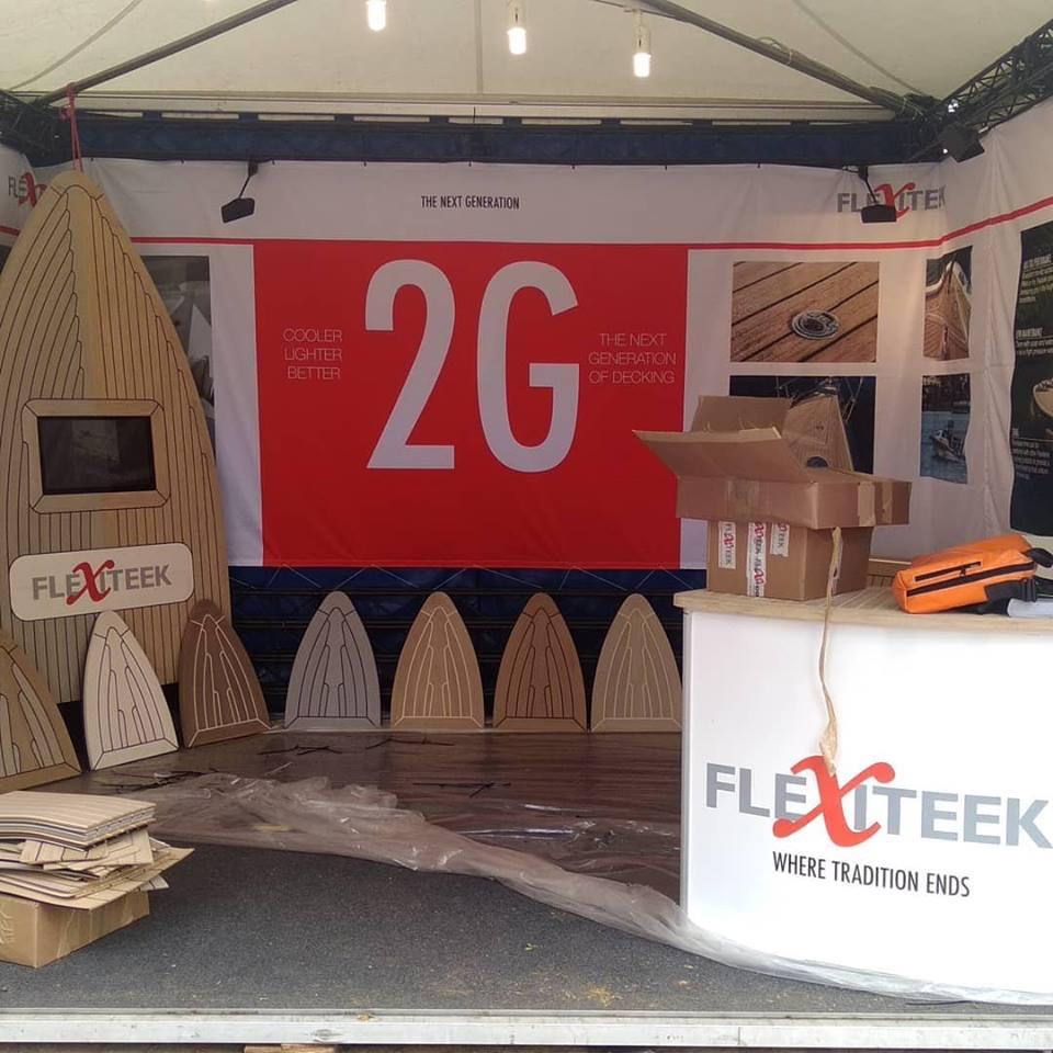 Flexiteek stand – Palma Boat Show 2018