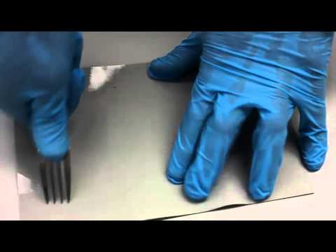 Abrasion and scratch resistance test